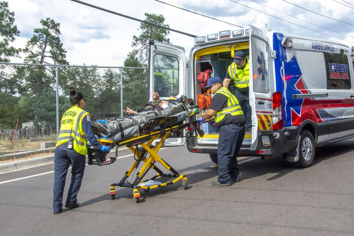 Bicycle accident July 25