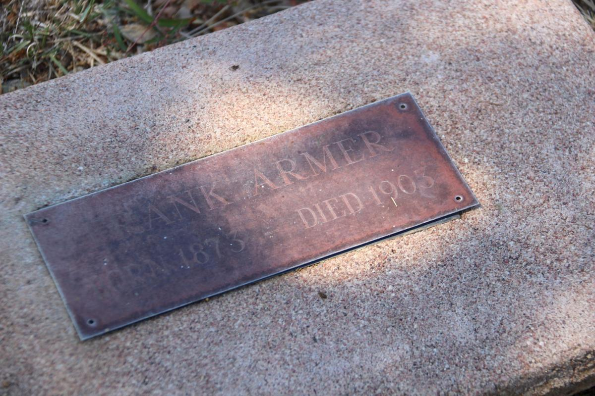 Payson Pioneer Cemetery Frank Armer train robber headstone