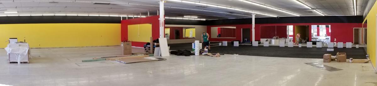 Arizona Fitness Club-Wide Interior Shot
