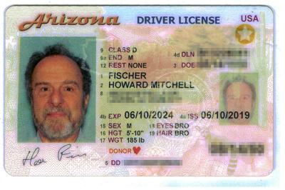 Arizona license