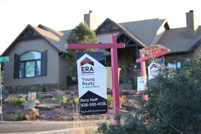 Rory Huff real estate sign