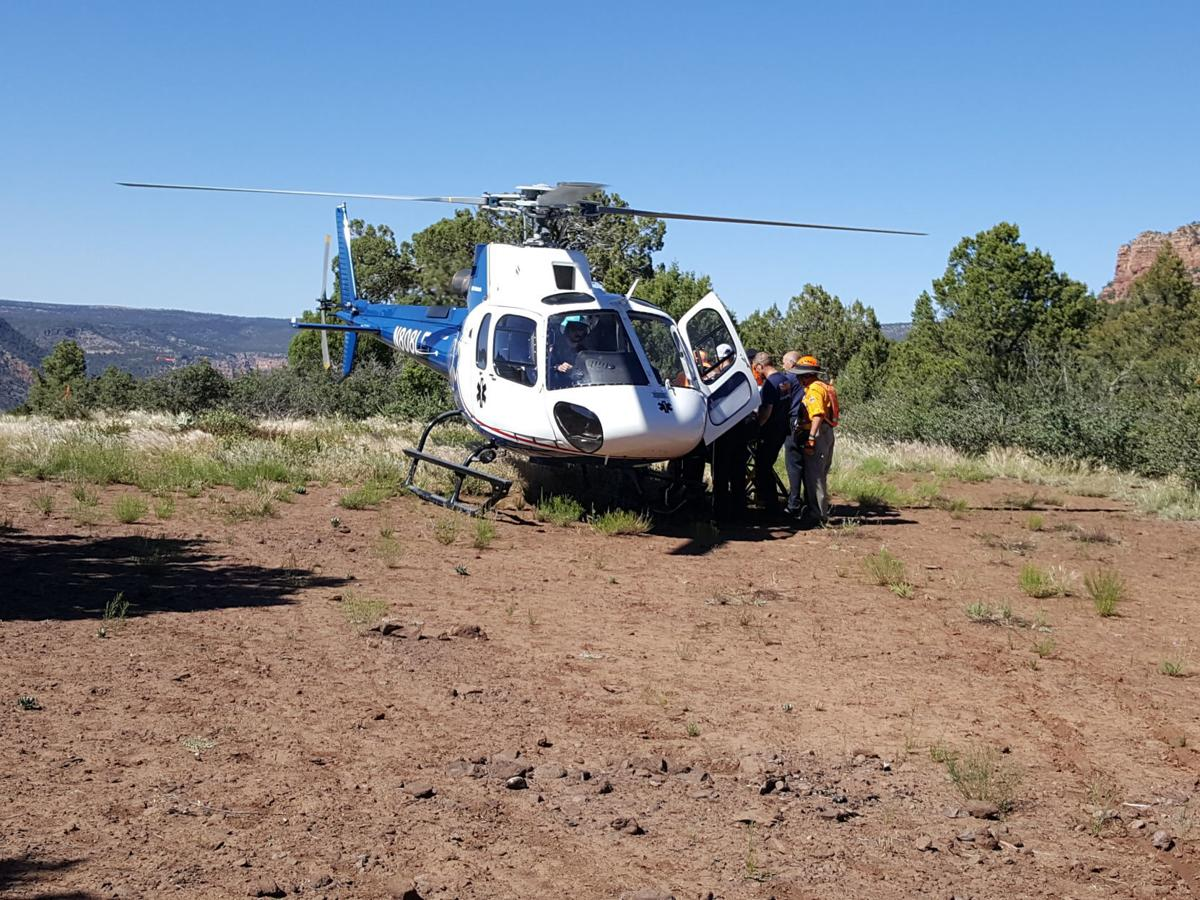fossil creek helicopter