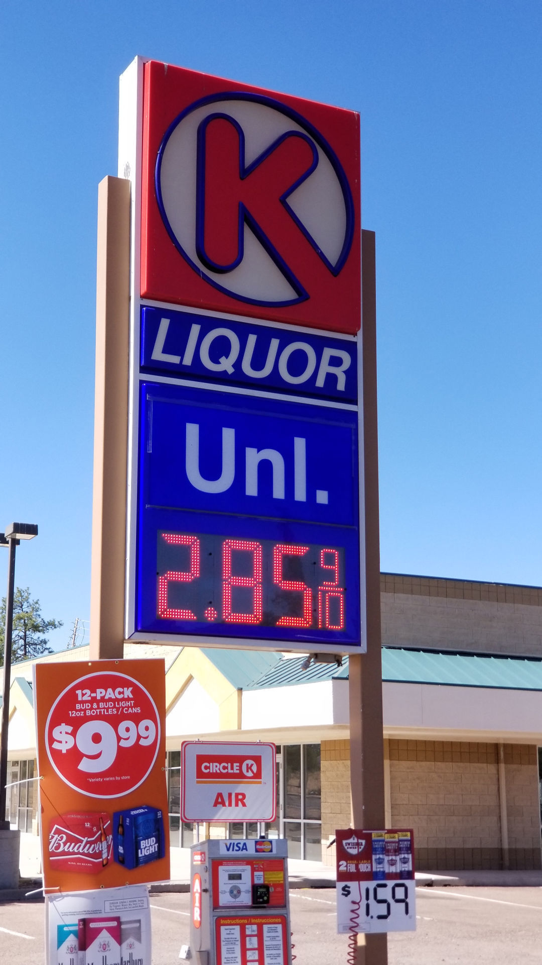 Circle K Gas Prices >> Gas Prices Keep Rising News Paysonroundup Com