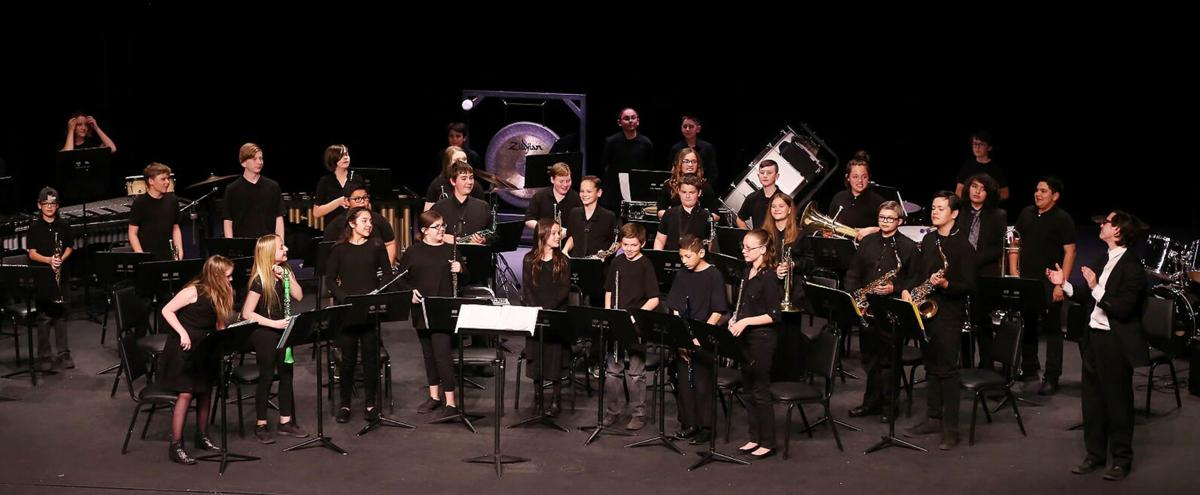 Payson High School band spring 2019