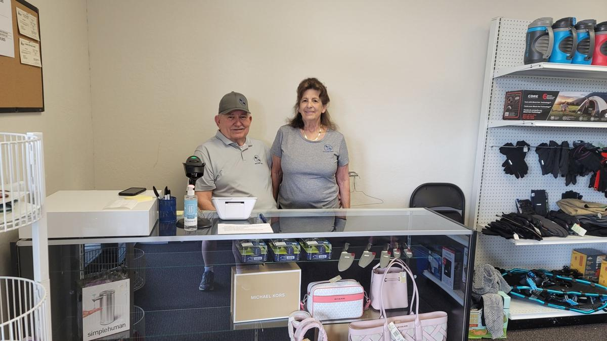 Discount Mart Managers Russ and Jan Horton