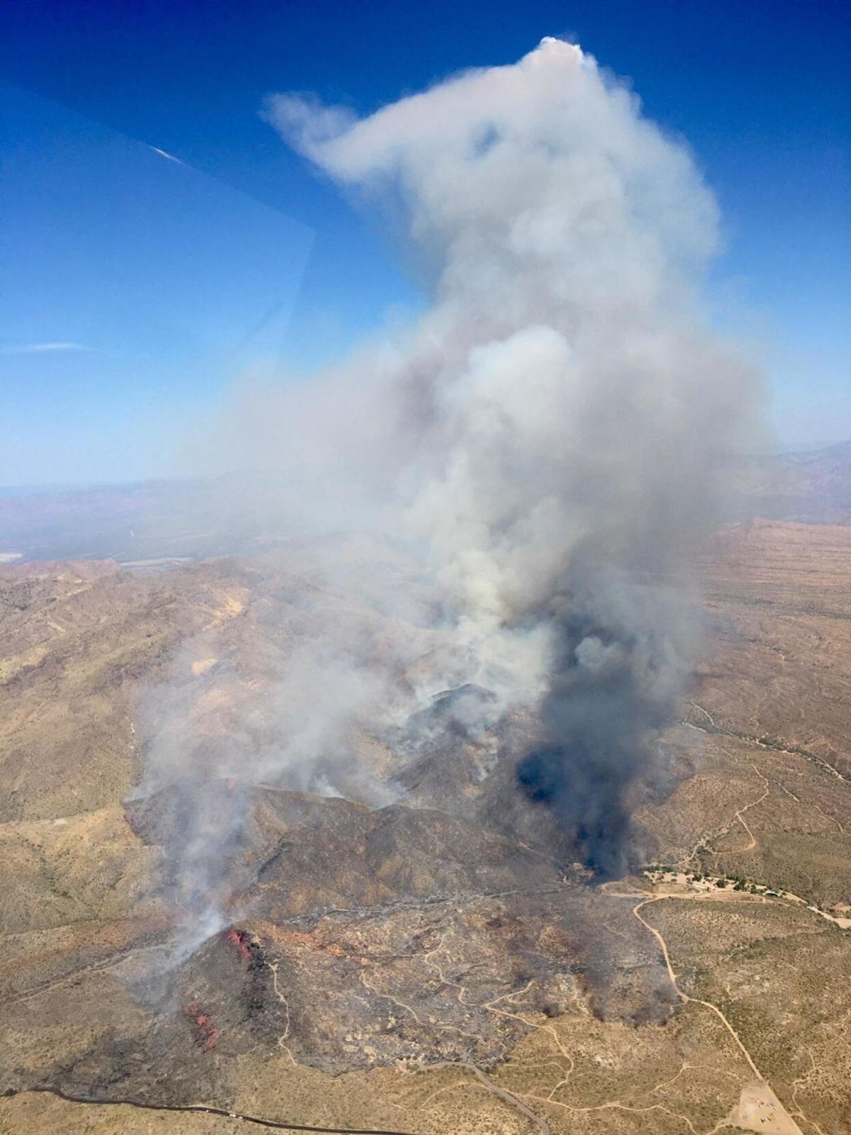 Sears Fire near Cave Creek