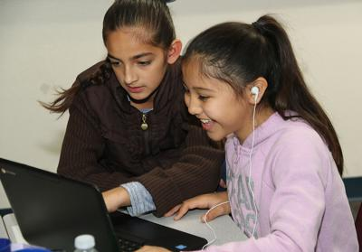 Hour of Code event excites and engages students