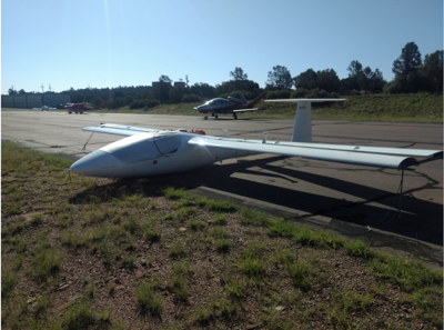 powered glider that made emergency landing aug 23