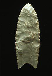 Clovis spear point