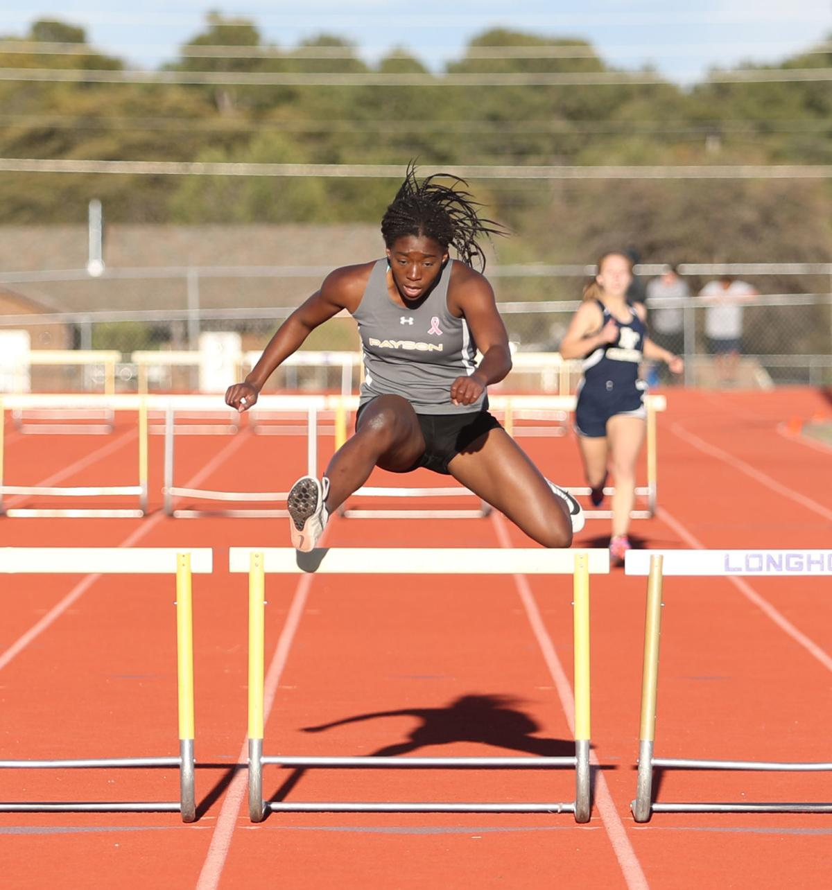 Track Meredith Kiekintveld 100 Hurdles