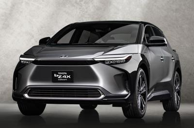 Newest Toyota electric SUV concept