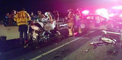 3 injured in head-on Ind  64 crash | News | pdclarion com