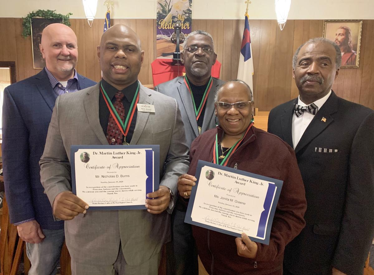 MLK Community Service honorees