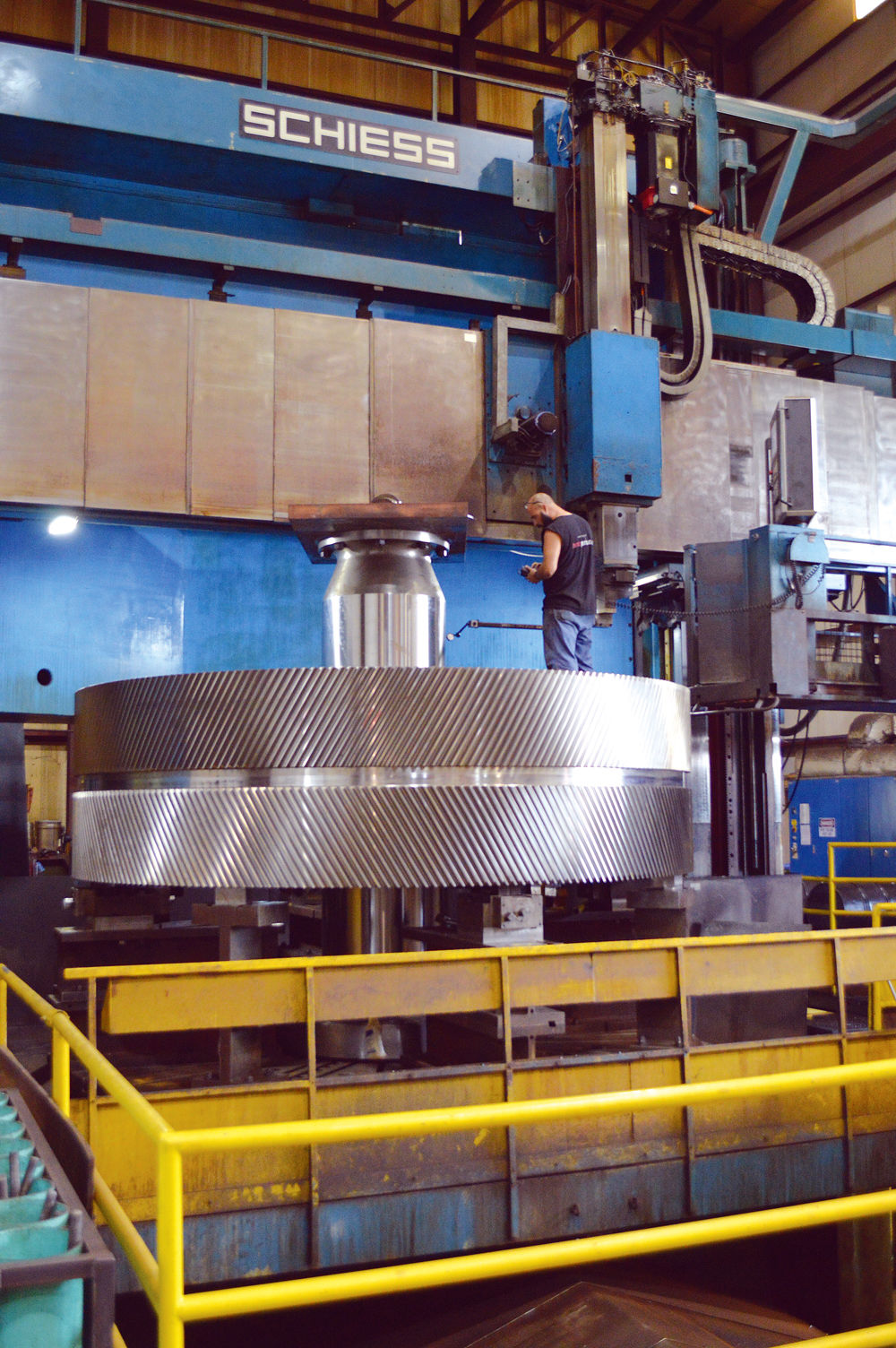 HMC Gears creates giant gear set for power plant
