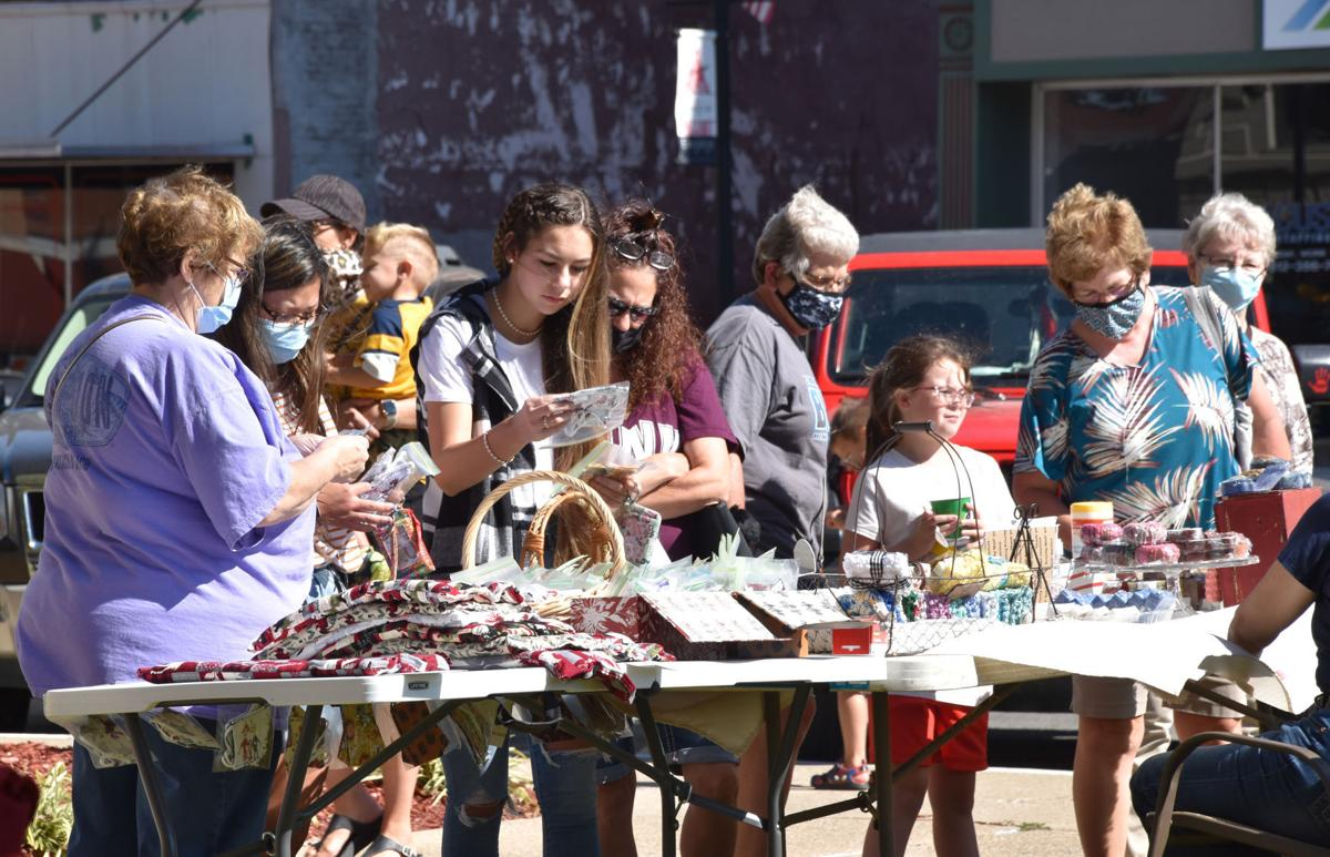 Craft show on the square
