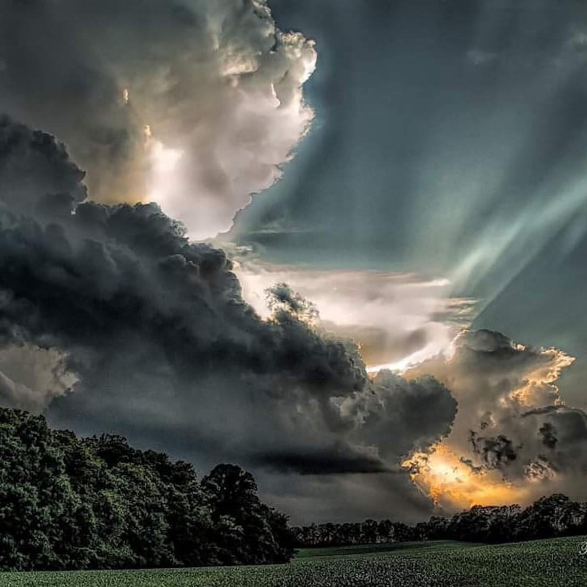 Storms over Hazleton