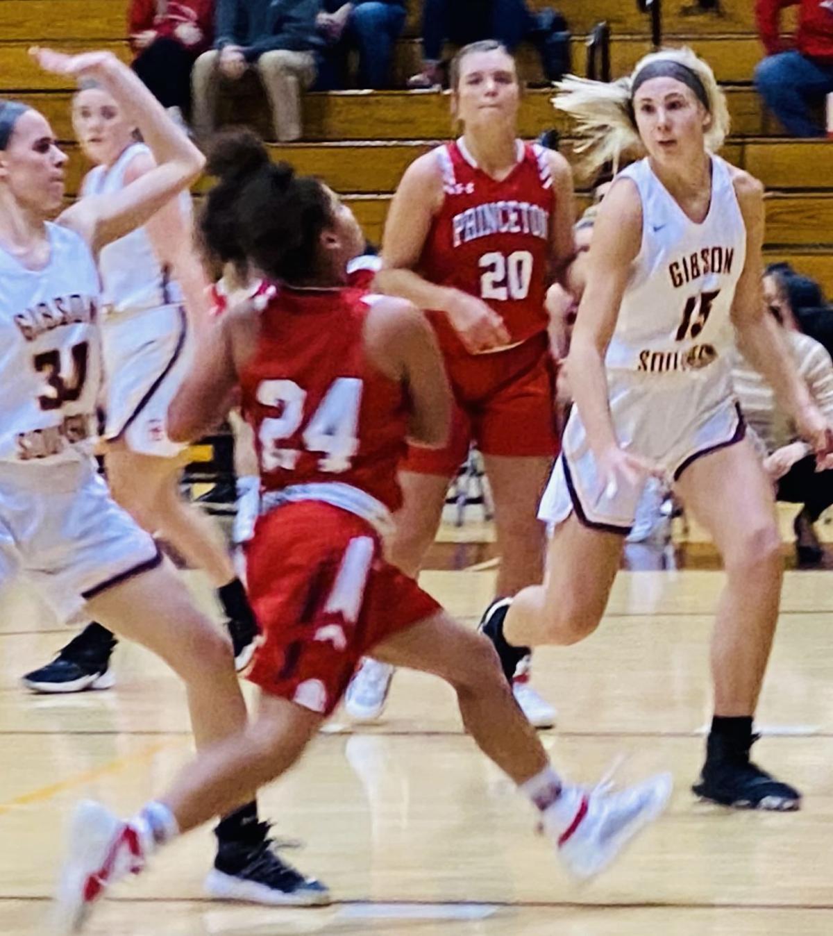 Princeton's Azaryon Wesley drives to basket