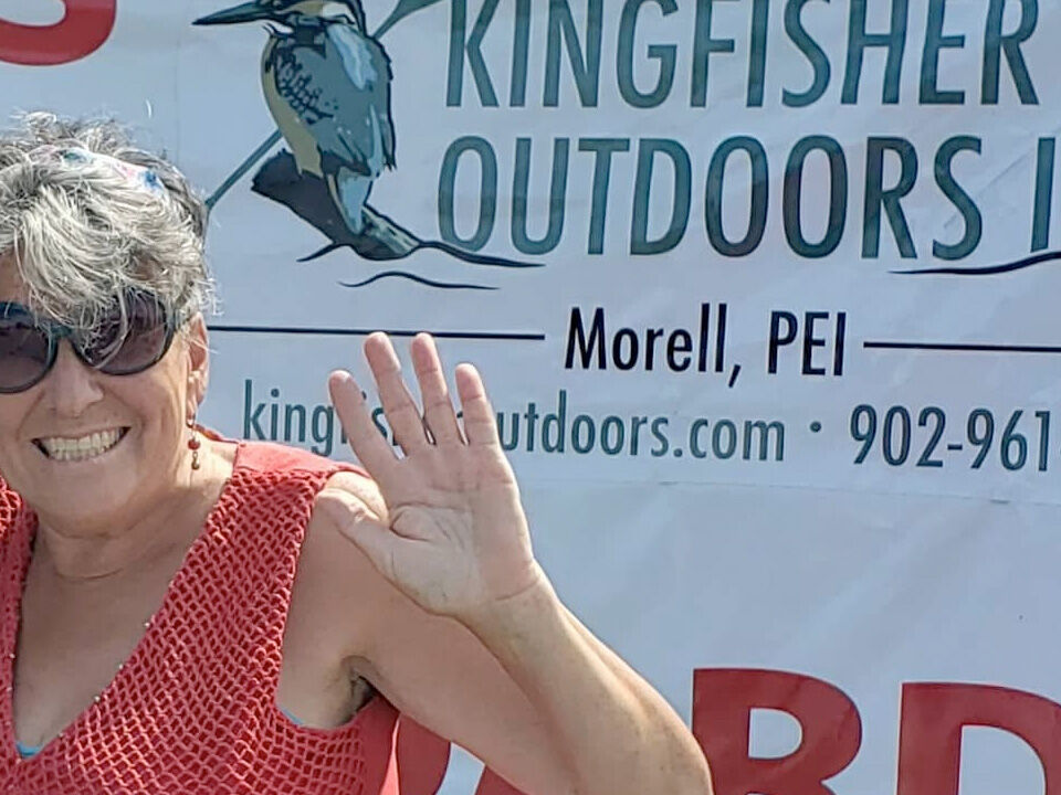 Donna Glass Kingfisher Outdoors