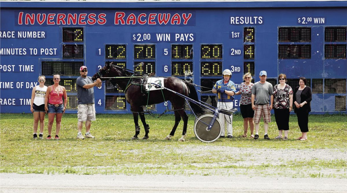 My Tie Wind after winning in 2:01 for Gerard Kennedy.
