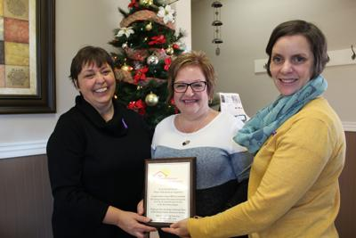 Fundraising efforts by O'Leary business honoured by Family Violence Prevention Services