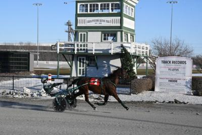 Rose Run Quest and driver Marc Campbell