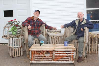 Lobster trap furniture