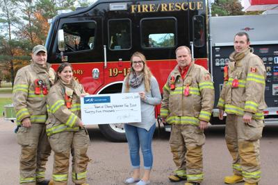 Significant donation will help West Prince fire department purchase new gear