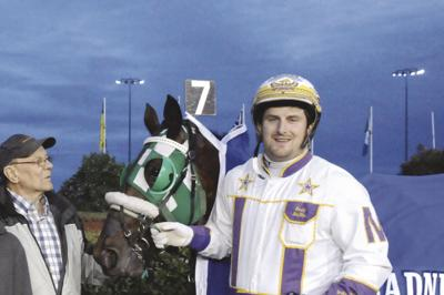 Brodie MacPhee with All Turain and owner Lee Hicken