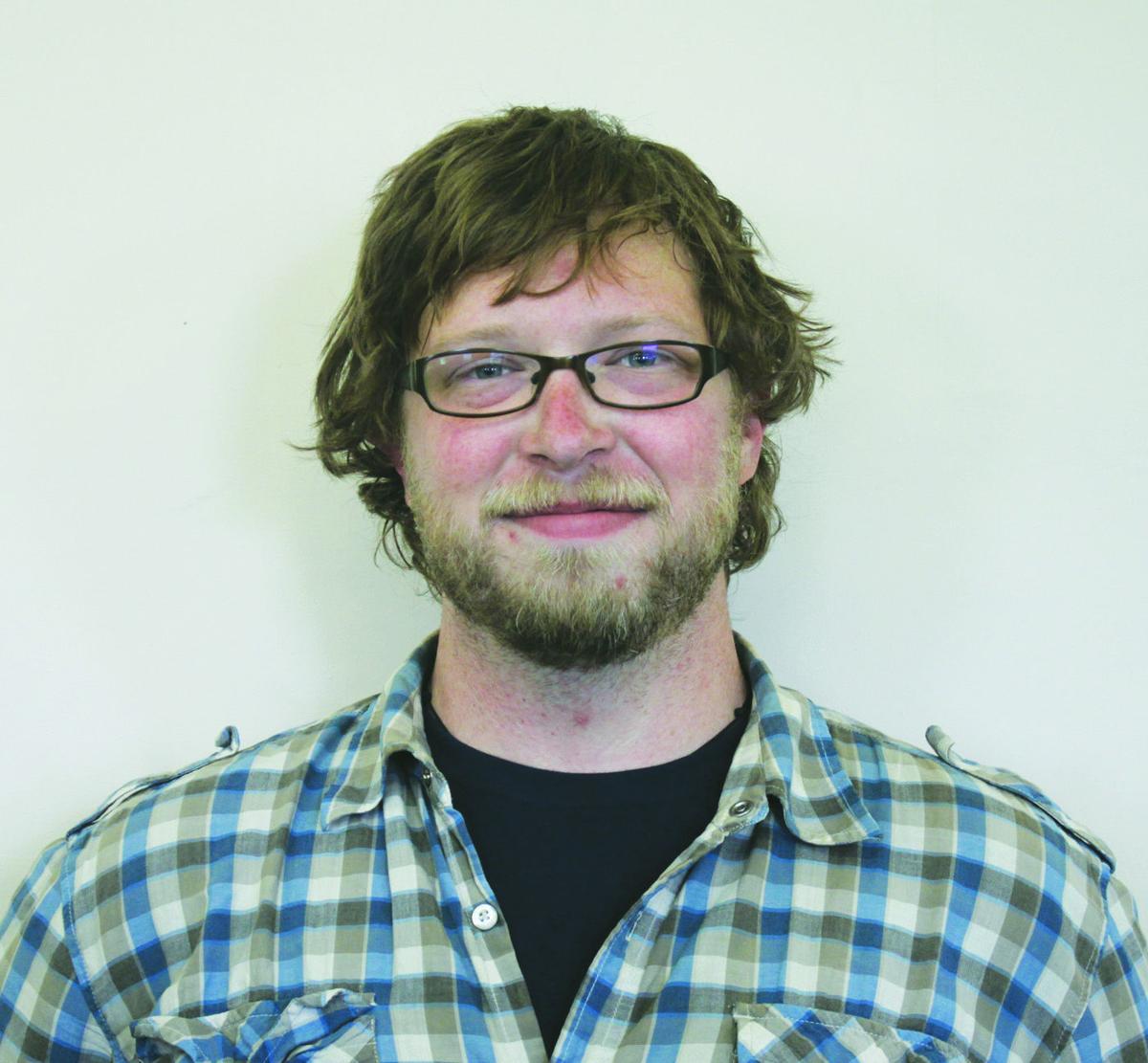 Former Graphic employee Luke Arbuckle