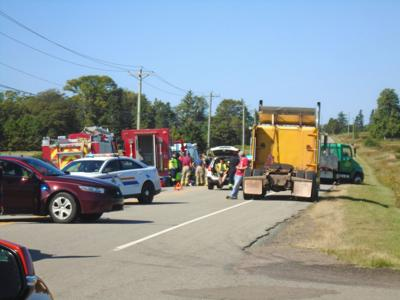 Accident in New Perth closes Hwy 3   The Eastern Graphic