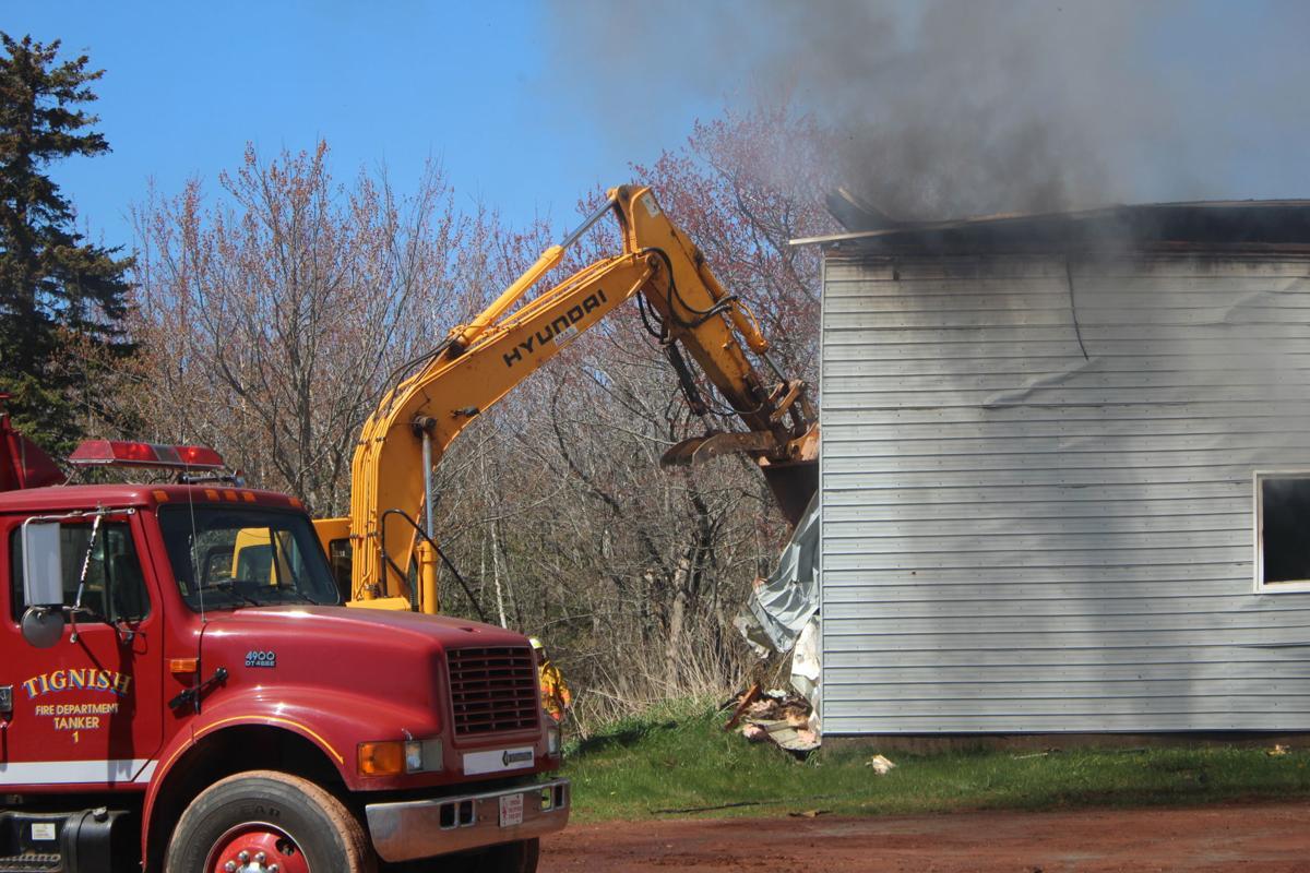 Machine shop in Rosebank destroyed by fire