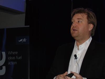 Craig Klemmer addresses Ignite conference