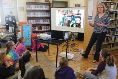 A whale of a time at the Alberton Public Library