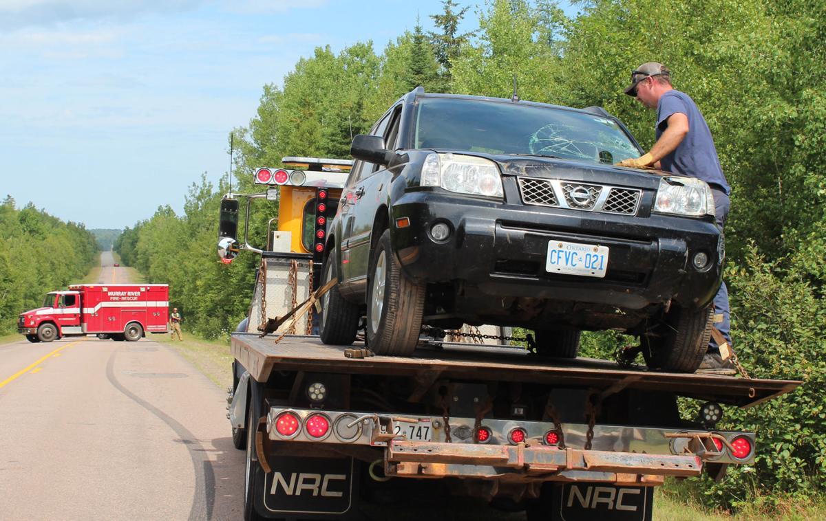 No injuries in single vehicle crash