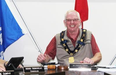 Souris Mayor Steve O'Brien