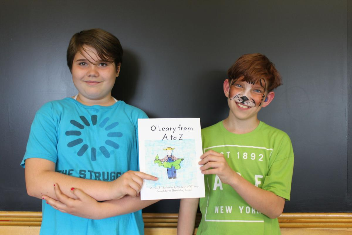 O'Leary Elementary launches A to Z picture book