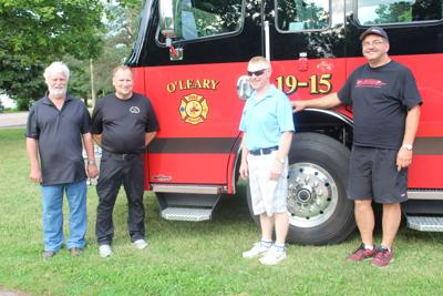 New truck for O'Leary Fire Department
