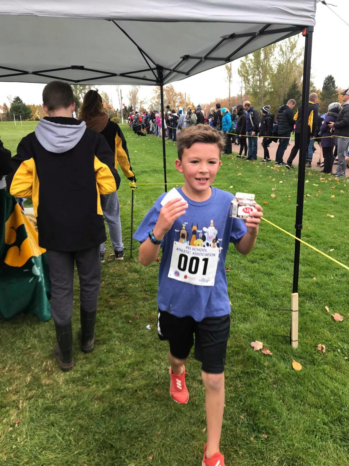 Bloomfield Elementary student wins cross-country provincials
