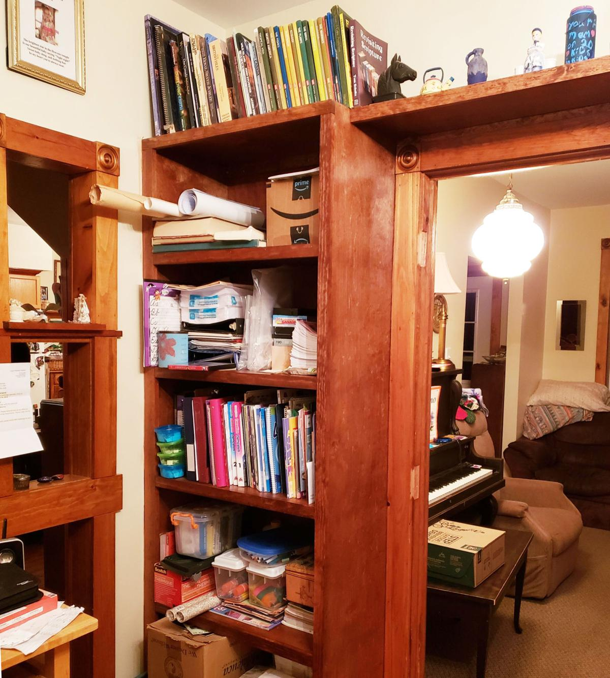 Custom bookcase project