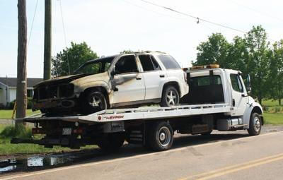 vehicle destroyed