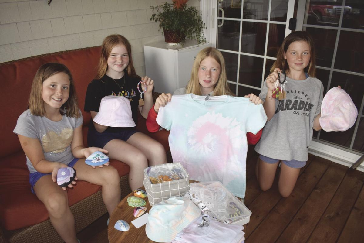 Budding entrepreneurs raise funds  for Humane Society