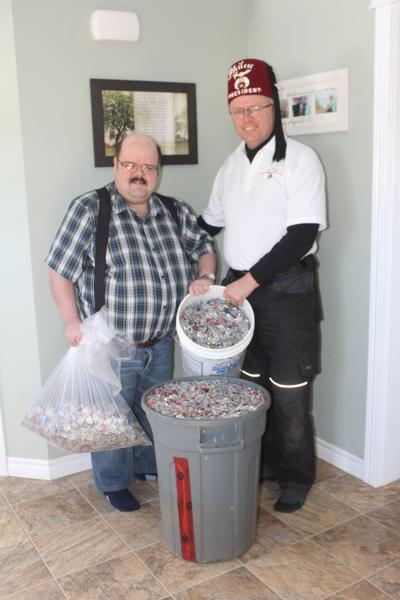 Pop tab donation to help with wheelchair purchases