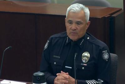 Peoria Police Chief Art Miller