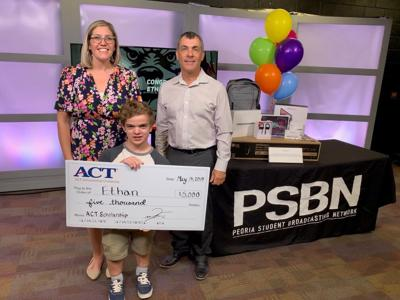 Liberty student is first winner of new ACT scholarship