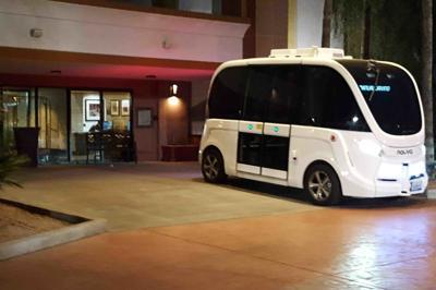 Peoria Driverless Shuttles