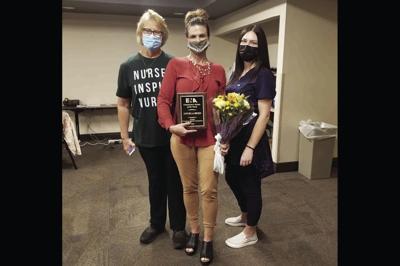 Angela Reed, center, was named Arizona Emergency Nurse of the Year