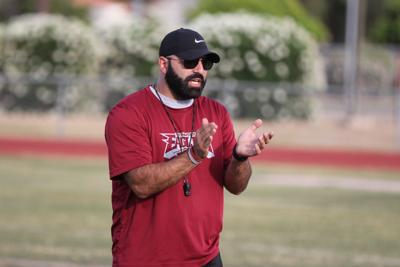 Hopes high at Ironwood football spring practice chris rizzo
