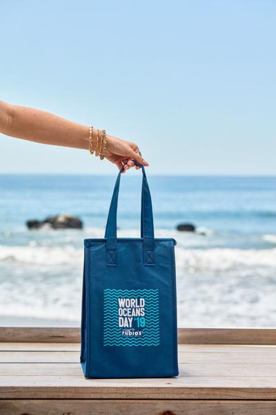 Celebrate World Oceans Day at Rubio's, get a free insulated bag