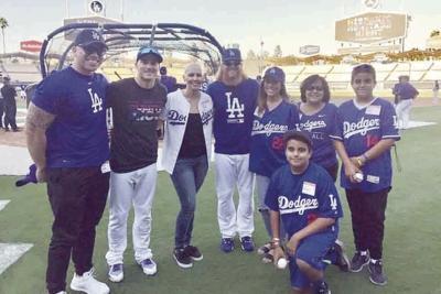 Los Angeles Dodgers Jessie Letuli