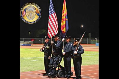 Peoria Officer Bill Weigt Arizona Special Olympics opening ceremony